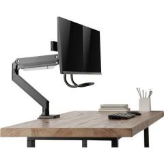 1 pezzo Supporto da tavolo per monitor 43,2 cm (17) - 61 cm (24) Girevole, Rotante, Inclinabile