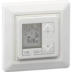 Timer da incasso analogico digitale Settimanale IP20 Funzione Astro, Cambio ora solare/legale