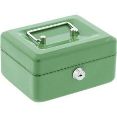 Cassetta portavalori (L x A x P) 150 x 120 x 80 mm Verde