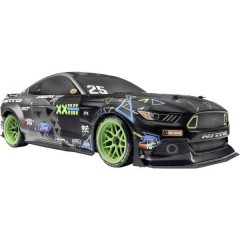 Vaughn Gittin Jr Drift Mustang Brushed 1:10 Automodello Elettrica Auto stradale 4WD 100% RtR 2,4 GHz incl.