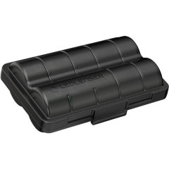 2x 18650 +Batterybox Batteria ricaricabile speciale 18650 Li-Ion 3.6 V 3400 mAh