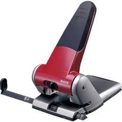 Perforatore per alti spessori Rosso Formato di regolazione max.: DIN A3 65 Fogli (80 g/m²)