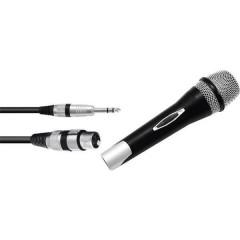 Partymic-1 Microfono per cantanti Tipo di trasmissione:Cablato incl. cavo, Interruttore