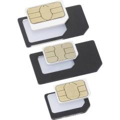 BT-SIMA-AIO Adattatore per SIM Adattamento da: Nano SIM, Micro SIM Adattamento a: Micro SIM, Standard SIM
