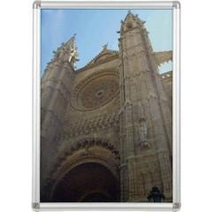 Cornice portafoto Formato carta: DIN A2 (L x A x P) 45 x 62.4 x 1.2 cm Argento