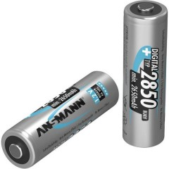 Digital HR06 Batteria ricaricabile Stilo (AA) NiMH 2650 mAh 1.2 V 2 pz.
