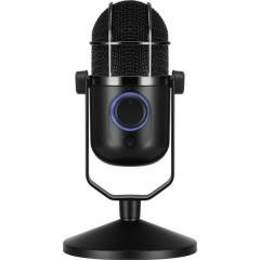 verticale Microfono USB da studio Tipo di trasmissione:Cablato Stativo, incl. cavo