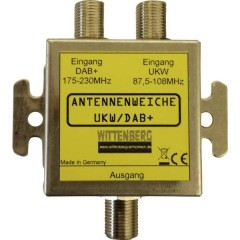 UKW & DAB+ Splitter antenna Onde ultracorte, DAB+