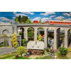 H0 Kit viadotto (L x L x A) 568 x 230 x 262 mm