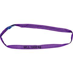 Imbracatura ad anello Carico di lavoro (WLL)=1 t Violetto