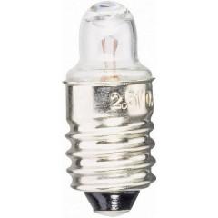 Lampadina per torce elettriche 2.20 V 0.55 W Attacco E10 Trasparente 1 pz.