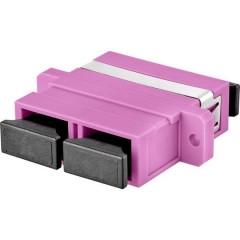 Connettore per fibra ottica Violetto
