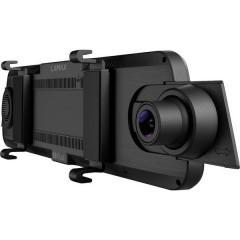 S9 Dual Telecamera di retromarcia, Dashcam con GPS Max. angolo di visuale orizzontale=150 ° Batteria ricaricabile,
