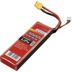 Batteria ricaricabile LiPo 11.1 V 3000 mAh Numero di celle: 3 20 C Softcase XT60