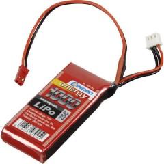 Batteria ricaricabile LiPo 7.4 V 1000 mAh Numero di celle: 2 25 C Softcase Presa BEC