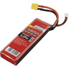Batteria ricaricabile LiPo 7.4 V 3800 mAh Numero di celle: 2 20 C Softcase XT60