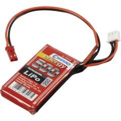 Batteria ricaricabile LiPo 7.4 V 500 mAh Numero di celle: 2 25 C Softcase Presa BEC