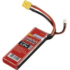 Batteria ricaricabile LiPo 7.4 V 1800 mAh Numero di celle: 2 25 C Softcase XT60