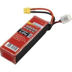 Batteria ricaricabile LiPo 14.8 V 3800 mAh Numero di celle: 4 20 C Softcase XT60