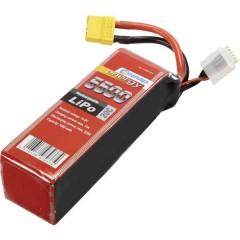 Batteria ricaricabile LiPo 14.8 V 5500 mAh Numero di celle: 4 20 C Softcase XT90