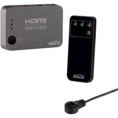 Connect 310 UHD 3 Porte Switch HDMI Con telecomando, Predisposto alla riproduzione 3D 3840 x 2160 Pixel