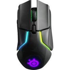 RIVAL 650 Senza fili (radio) Mouse da gioco Ottico Ergonomico, Illuminato, Peso ridotto, Cavo staccabile