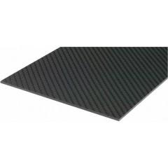 Piastra pre-impregnata in fibre di carbonio (L x L) 340 mm x 150 mm 1 mm