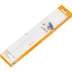 Stick colla a caldo 11 mm 250 mm Bianco 250 g 10 pz.