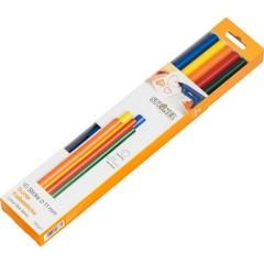 Stick colla a caldo 11 mm 250 mm Assortito vari colori 250 g 10 pz.