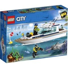 LEGO® CITY Yacht a immersione