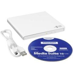Masterizzatore esterno DVD Dettaglio USB 2.0 Bianco