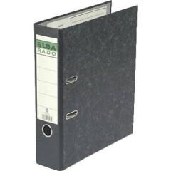 Raccoglitore rado DIN A4 Larghezza dorso: 80 mm Nero marmorizzato 2 archetti