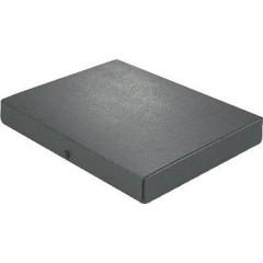 Cartellina per documenti 380 Fogli (80 g/m²) Nero DIN A4 1 pz.