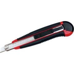 Forbici universali taglierina professionale, AUTO-LOAD , 9 mm - nero/rosso 1 pz.