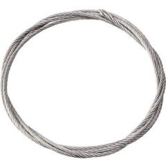Filo in acciaio rivestito in plastica Lunghezza: 2000 mm Diam. est.: 1.5 mm 1 pz.