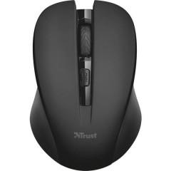 Mydo Silent Click Senza fili (radio) Mouse Ottico Nero