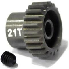 Pignone motore Tipo di modulo: 48 DP Ø foro: 3.175 mm Numero di denti: 21