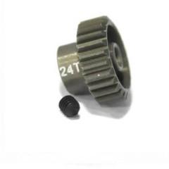 Pignone motore Tipo di modulo: 48 DP Ø foro: 3.175 mm Numero di denti: 24