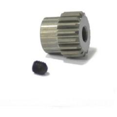 Pignone motore Tipo di modulo: 48 DP Ø foro: 3.175 mm Numero di denti: 17