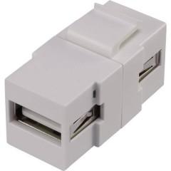 RF-KS-USB2 Modulo da incasso USB 2.0 Keystone