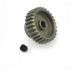 Pignone motore Tipo di modulo: 48 DP Ø foro: 3.175 mm Numero di denti: 28