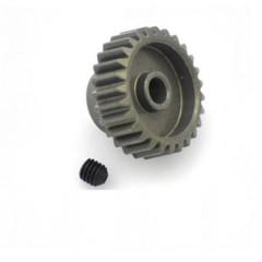 Pignone motore Tipo di modulo: 48 DP Ø foro: 3.175 mm Numero di denti: 27
