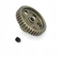 Pignone motore Tipo di modulo: 48 DP Ø foro: 3.175 mm Numero di denti: 38