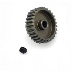 Pignone motore Tipo di modulo: 48 DP Ø foro: 3.175 mm Numero di denti: 29