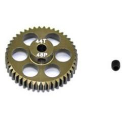 Pignone motore Tipo di modulo: 48 DP Ø foro: 3.175 mm Numero di denti: 44