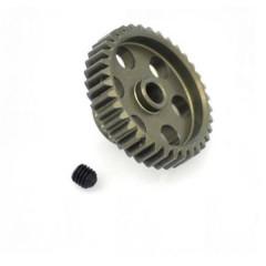 Pignone motore Tipo di modulo: 48 DP Ø foro: 3.175 mm Numero di denti: 37