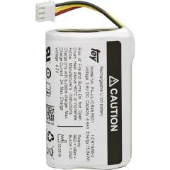 Pacco batteria x 18650 NCR-18650BF con spina Li-Ion 3.6 V 6700 mAh