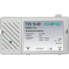 TVS 10 Amplificatore multibanda BK, DVB-T 22 dB