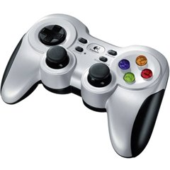 F710 Wireless Controller Gamepad PC Argento