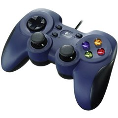 F310 Controller Gamepad PC Blu